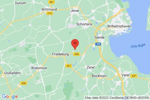 Karte Friedeburg Etzel