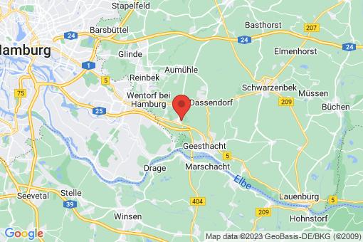 Karte Escheburg