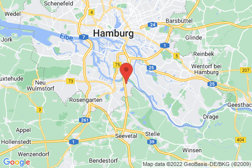 Karte Hamburg Neuland