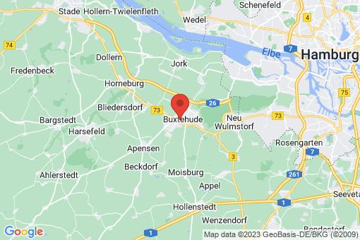 Karte Buxtehude