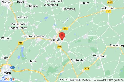Karte Aurich Egels