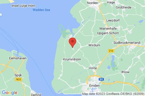 Karte Krummhörn Visquard