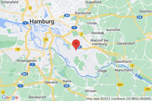 Karte Hamburg Reitbrook