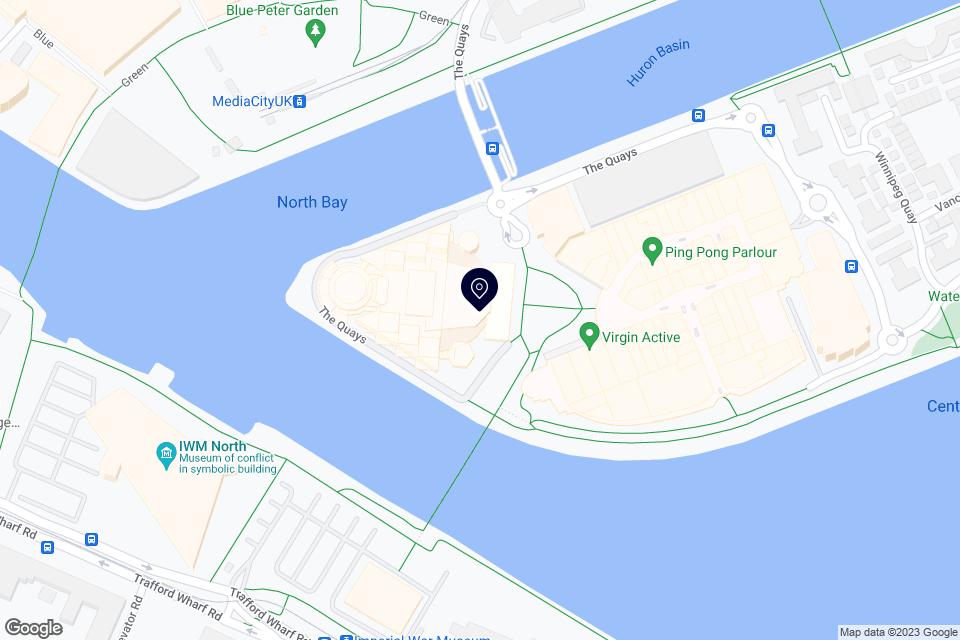 Pier 8, Salford, M50 3AZ map