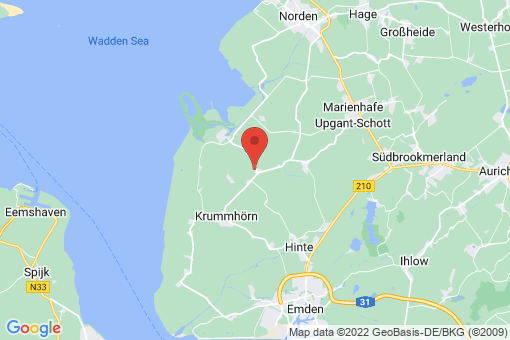 Karte Krummhörn Eilsum