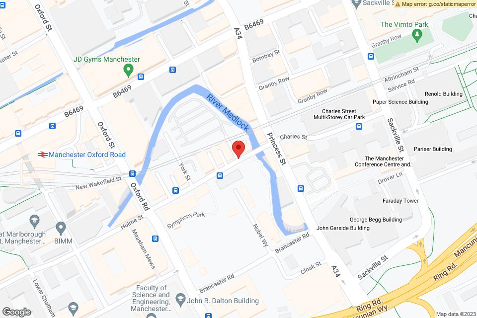 38 Charles Street, Manchester, M1 7DB map