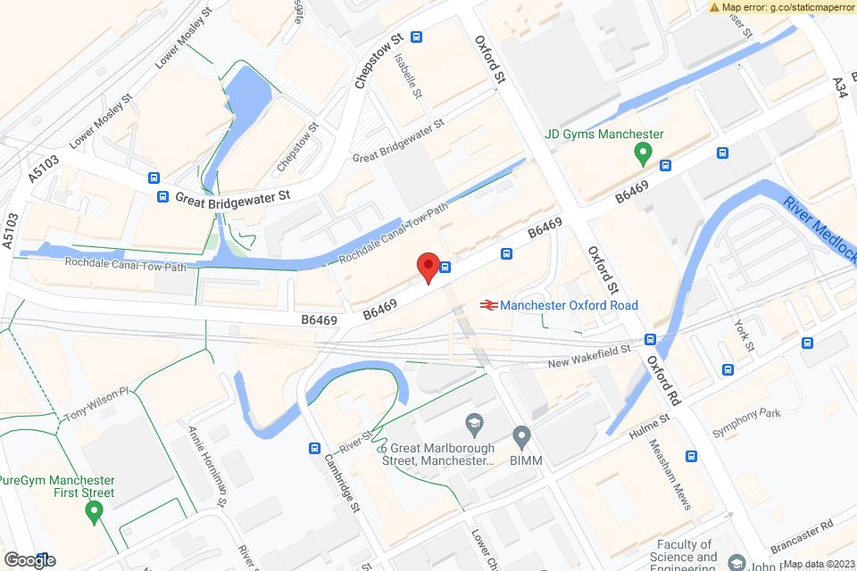 Whitworth St W, Manchester, M1 5NQ map