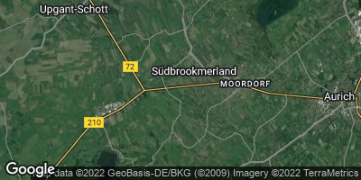 Google Map of Südbrookmerland
