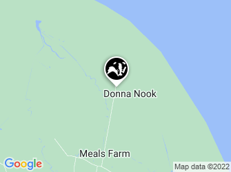 A static map of Donna Nook National Nature Reserve