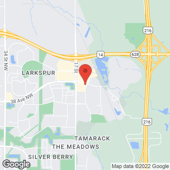 Map of Tim Hortons at 3745 17 St Nw, Edmonton, AB T6T 1H9