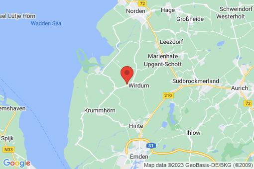 Karte Krummhörn Grimersum