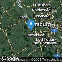 Lagekarte von Hansestadt Buxtehude