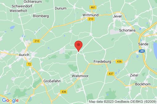 Karte Friedeburg Wiesedermeer