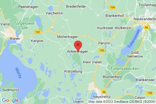 Karte Ankershagen