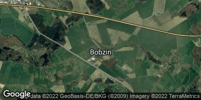 Google Map of Bobzin bei Hagenow