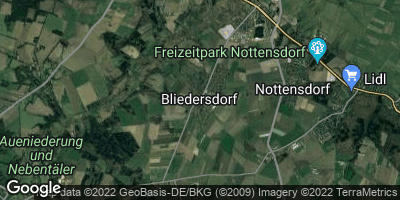 Google Map of Bliedersdorf