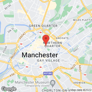 Map of Taco Bell at 32 Market St, Manchester,  M43QA