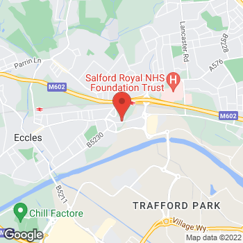 Map of wilko Eccles (New) at 21-37 The Mall, Eccles,  M30 0EA