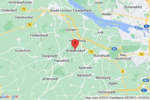 Karte Bliedersdorf