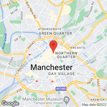 Map of wilko Manchester at Unit 2 Store 3, Arndale Centre, Manchester,  M4 3AQ