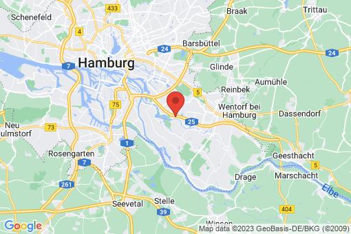 Karte Hamburg Allermöhe