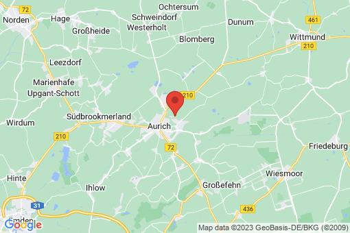Karte Aurich
