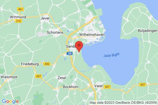 Karte Sande Cäciliengroden