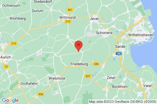 Karte Friedeburg Reepsholt, Reepsholt