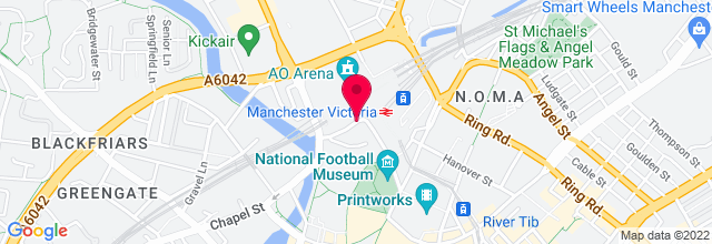 Map for Phones 4U Arena