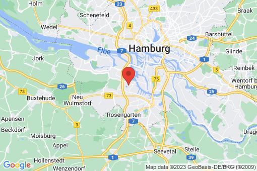 Karte Hamburg Moorburg