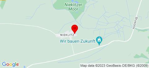Google Map für Monteursunterkunft Gallin OT Nieklitz
