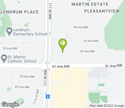 Map of 11066 51 Ave NW in Edmonton