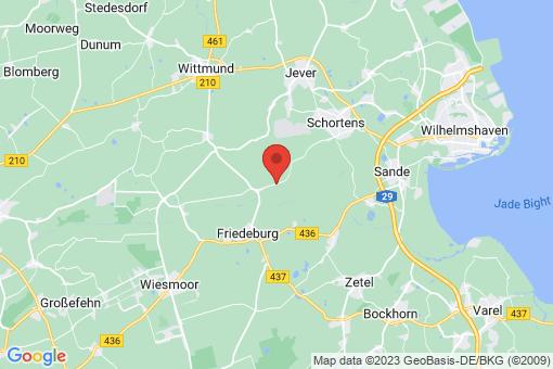 Karte Friedeburg Reepsholt