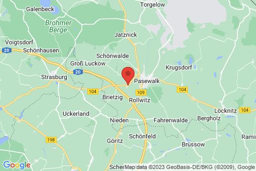 Karte Papendorf
