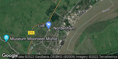 Google Map of Nordenham