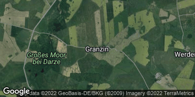 Google Map of Granzin bei Lübz
