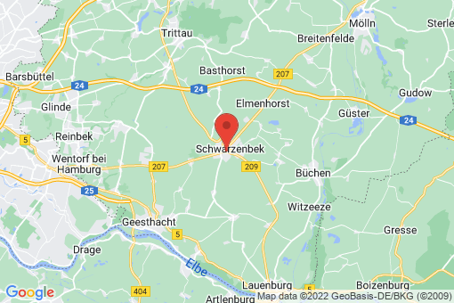 Karte Schwarzenbek