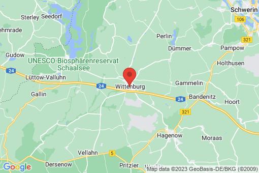 Karte Wittenburg