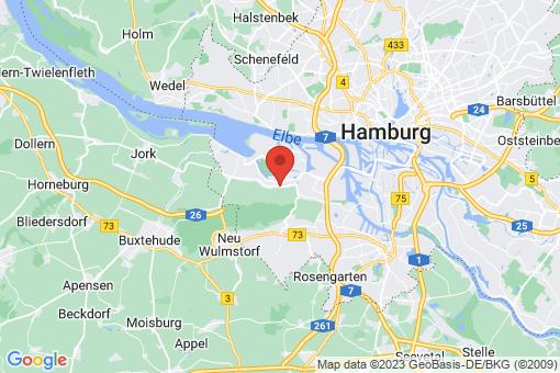 Karte Hamburg Francop