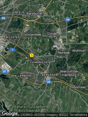 Google Map of Lohbrügge