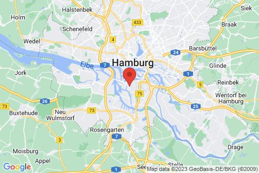 Karte Hamburg-Mitte