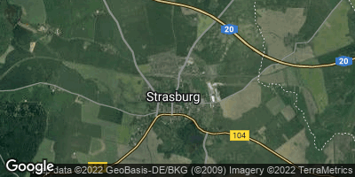 Google Map of Strasburg