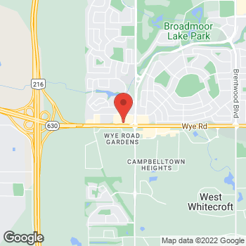 Map of Tim Hortons at 993 Fir St, Sherwood Park, AB T8A 4N5