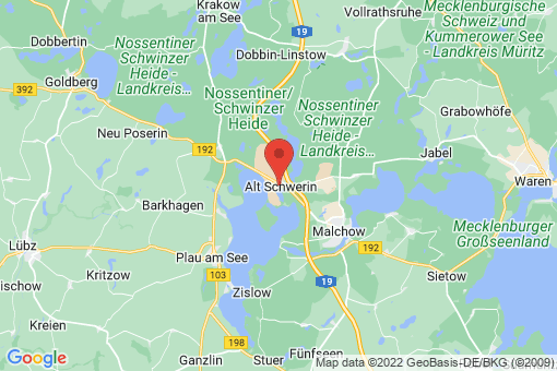 Karte Alt Schwerin