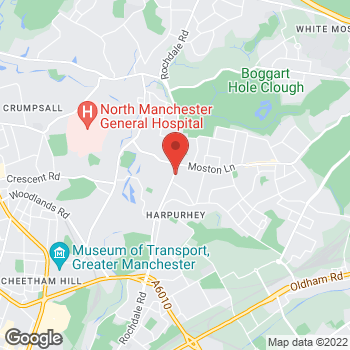 Map of wilko Harpurhey at No1 North City Shopping Centre, Manchester,  M9 4DH