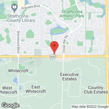 Map of Tim Hortons at 642 Wye Rd Esso Otr, Sherwood Park, AB T8A 6G3