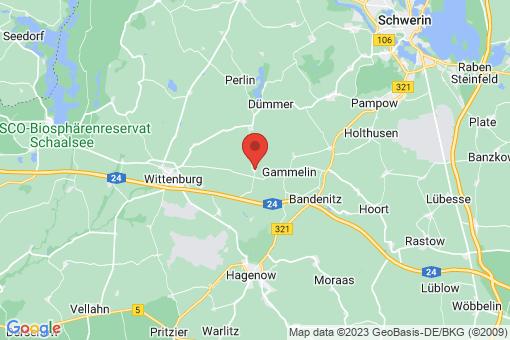 Karte Hülseburg