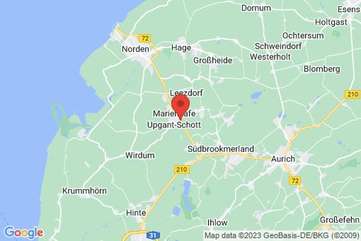 Karte Upgant-Schott