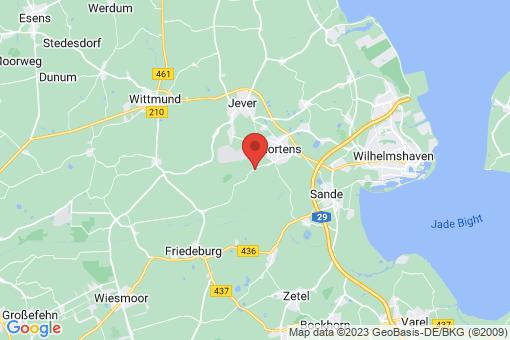 Karte Schortens Schoost