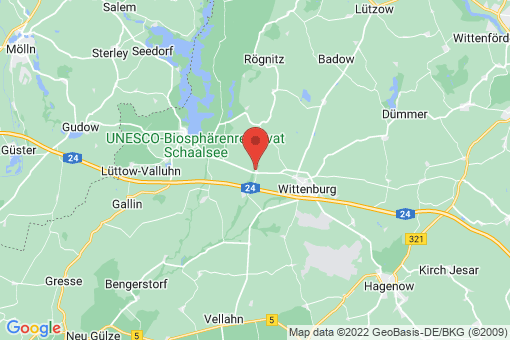 Karte Waschow